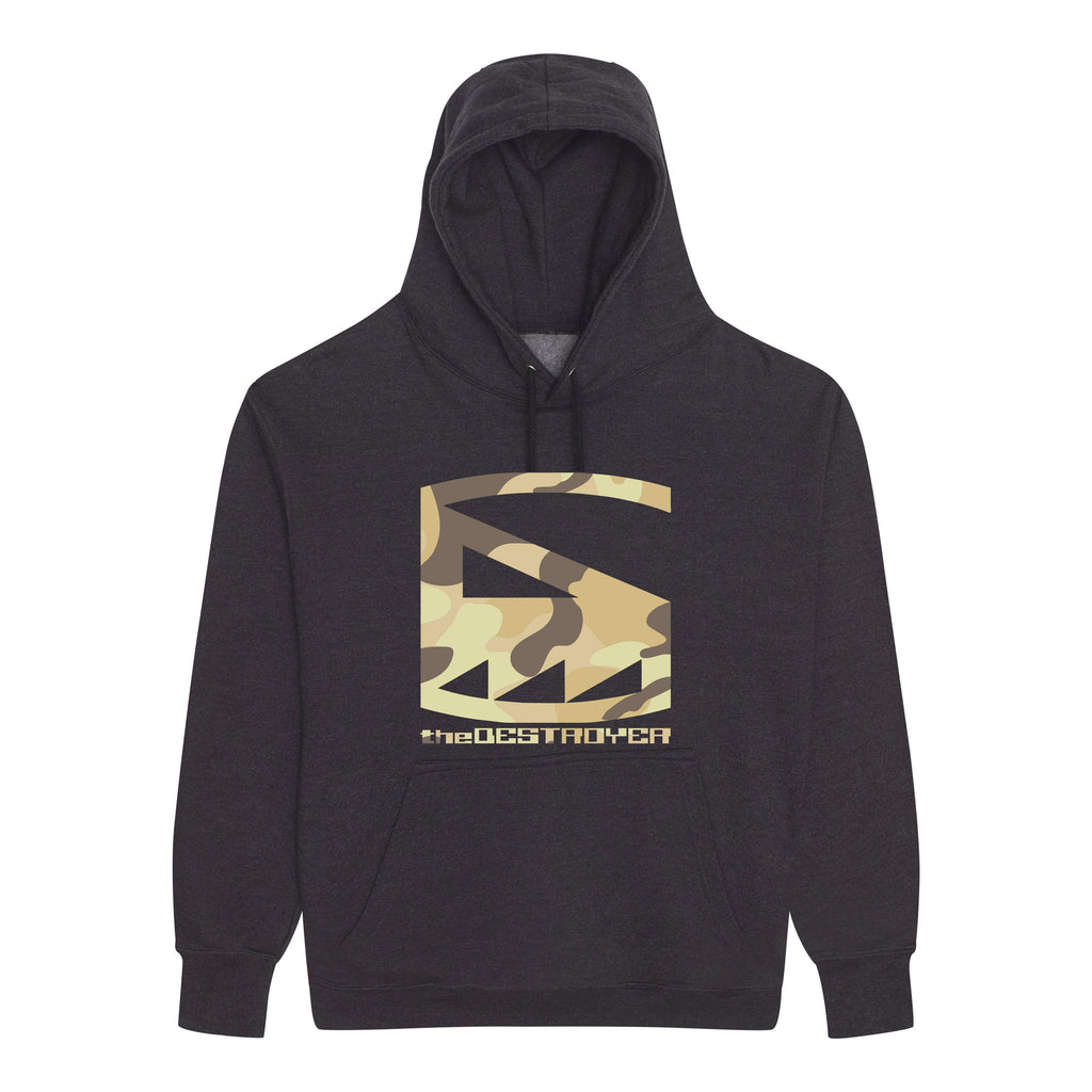 The Destroyer sand camo hoodie