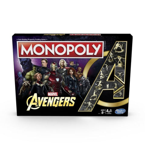 Marvel's Avengers - Monopoly Game