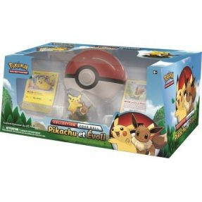 Pokemon - Pokéball Collection Box Pikachu et Evoli 2018 (fr)