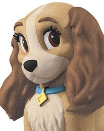 Disney-fluffy Puffy Lady figurine