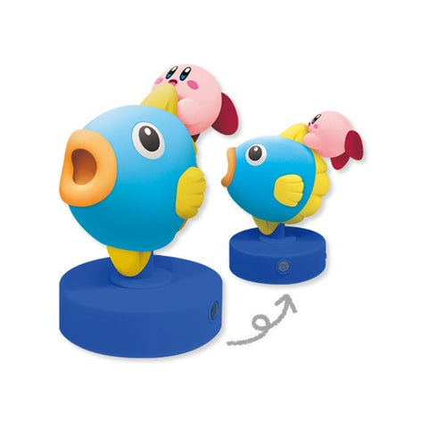 KIRBY - SENSITIVE LAMP KIRBY AND KEN THE MOONFISH