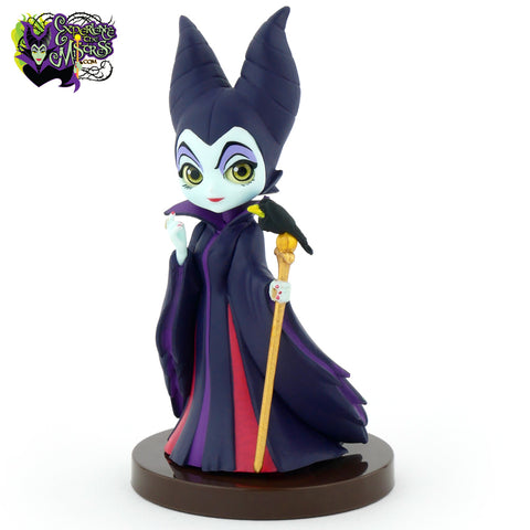 Banpresto Japan Disney Schurken II: 'Sleeping Beauty' Q Posket Petite Vinyl Beeldje – Maleficent & Diablo