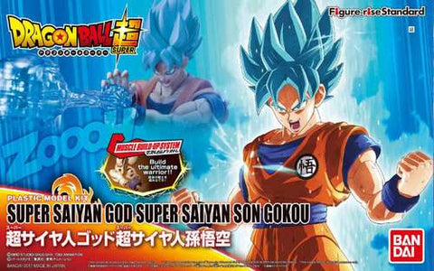 Dragon Ball Figure Rise Standard - Goku SSJ God Blue