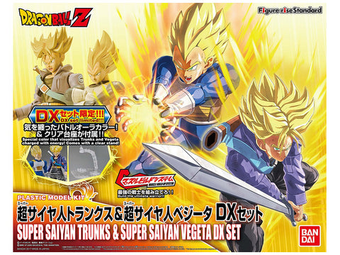Figure Rise SSJ Trunks et Vegeta