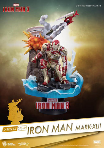 D-SELECT IRON MAN MK42 FIG