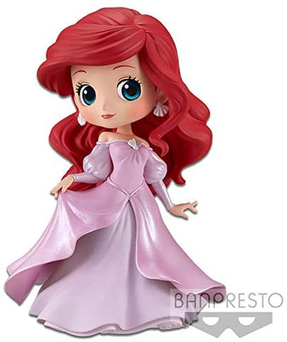 Disney - Ariel Pink Dress Q Posket Characters