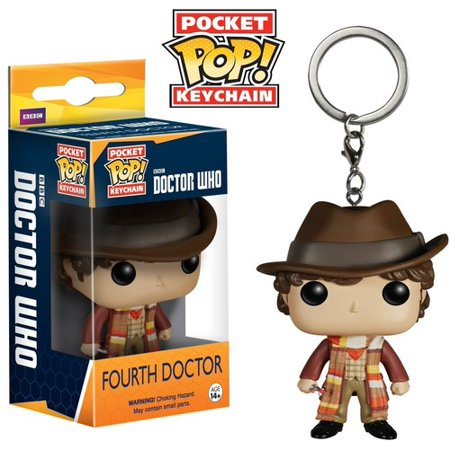 FUNKO POCKET POP! KEYCHAIN: DOCTOR WHO - FOURTH DOCTOR