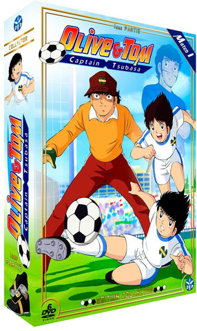 Oliver et Tom (Capitaine Tsubasa) - Edition collector (match 1, 6 DVD)