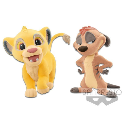 Banpresto Fluffy Puffy Disney The Lion King Simba & Timon