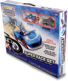 OFFICIAL SONIC AND ALL-STARS RACING TRANSFORMED SLOT CAR RACE SET - SONIC & SHADOW
