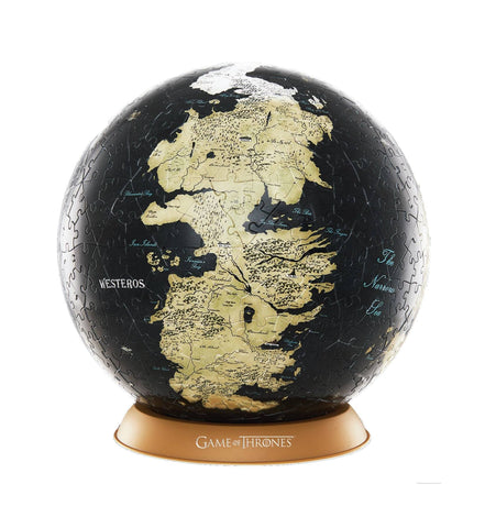 Game of Thrones puzzle 3D Globe Unknown World (240 pièces)