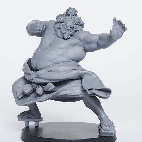 One Piece Banpresto World Figure Colosseum 2 Vol 4 Jinbe Color Black and White