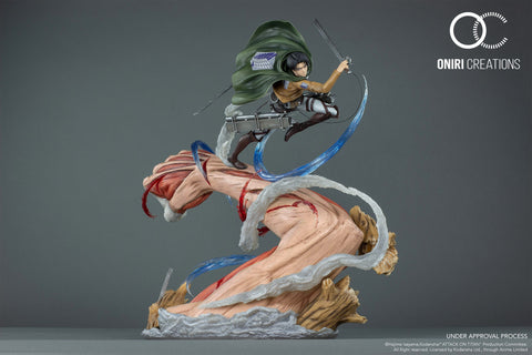 Oniri Creations - Levi Vs Female Titan