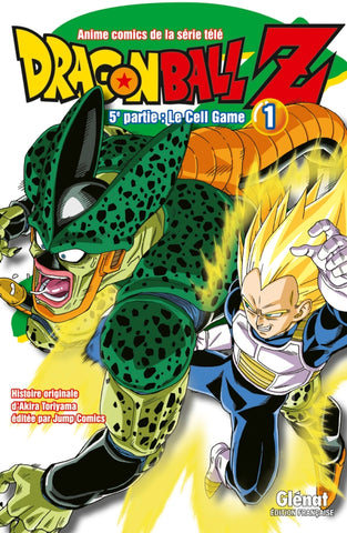 "Dragon Ball Z ""Anime Comics"" - 5e Partie : Le Cell Game (Tome 01)"