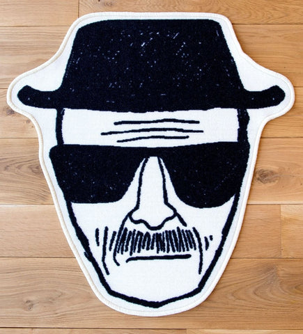 Breaking Bad : Heisenberg Carpet (80 x 84cm)
