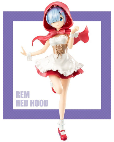 Re:Zero - Rem Red Hood Pearl Color