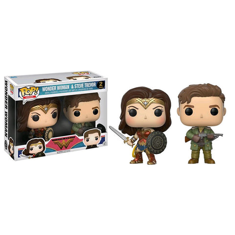 Funko Pop! - Wonder Woman & Steve Trevor (2Pack)