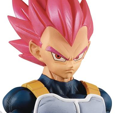 Dragon Ball Super : Broly - Choukoku Buyuuden : Super Saiyan God Vegeta