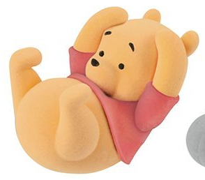 Disney Figurine - Cutte Fluffy Puffy : Winnie L'Ourson