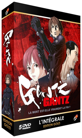 GANTZ - INTEGRALE EDITION GOLD 5 DVD + LIVRET