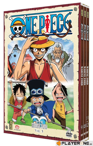 One Piece - Marine Ford : Volume 03 (4DVD)