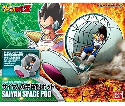 DRAGON BALL - MODEL KIT - MECHANICS SAYAN SPACE POD