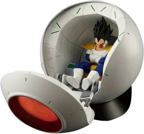 DRAGON BALL - MODEL - SAYAN KIT mechanica ruimte POD