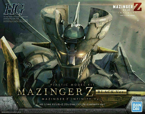GOLDORAK - MODEL KIT HG 1/144 - MAZINGER Z INFINITY BLACK VERSION