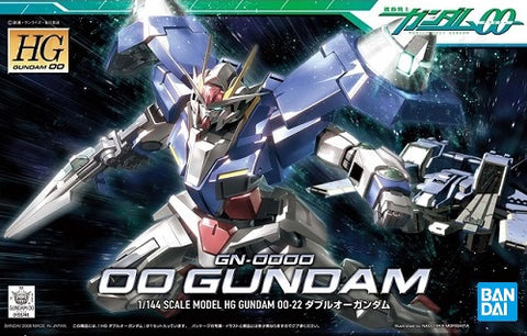 GUNDAM - HG 1/144 GUNDAM OO GN-0000 00 - MODEL KIT