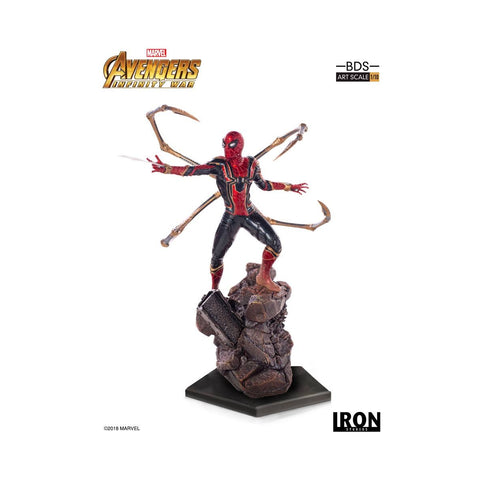 Avengers Infinity War - BDS Art Scale 1/10 : Iron-Spider (26cm)