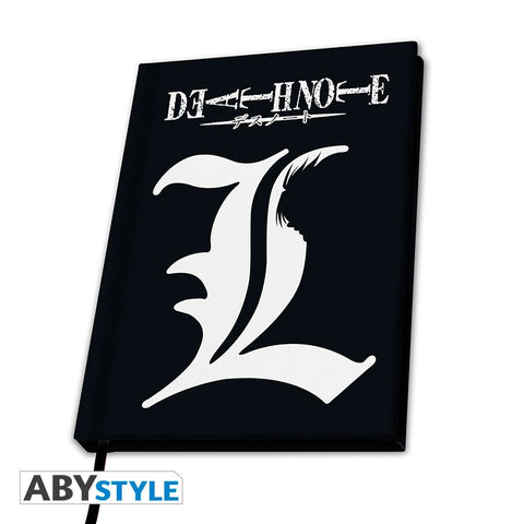 "Death Note - Cahier A5 ""L"""