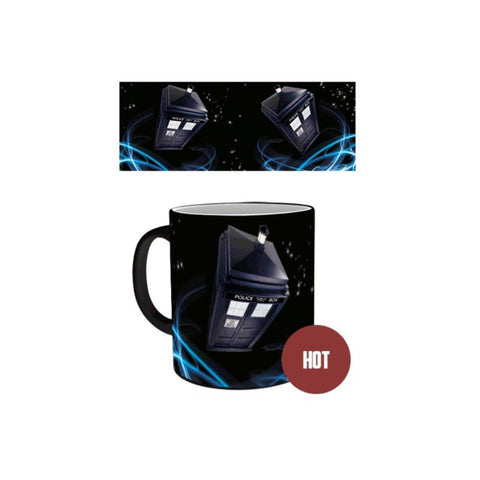 Doctor Who Heat Changing Mug Tardis