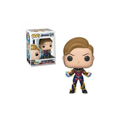Figurine Funko Pop! Marvel : Endgame - Captain Marvel Nouvelle Coupe de Cheveux