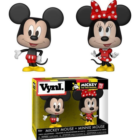 Figurine Funko Vynl: Disney - Mickey & Minnie