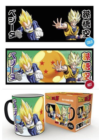Dragon Ball Z : Saiyans - Mugs thermo-réactifs (300ml)