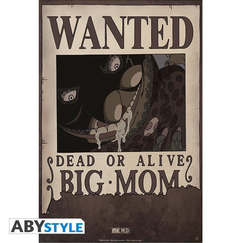 "ONE PIECE - Poster ""Wanted Big Mom"" (52x35)"