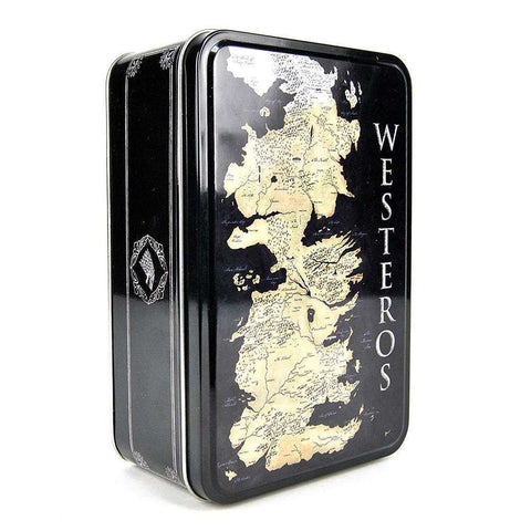 Game Of Thrones Lunch Tin - Westeros Map Lunch Box