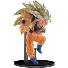 DRAGON BALL Z - FIGURINE SCULTURES - BB6 V6 SS3 GOKU - 13CM 'REPROD'
