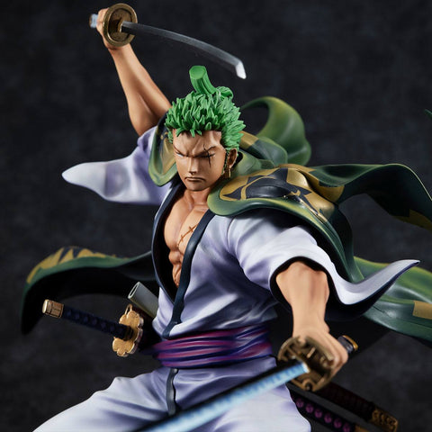 "One Piece - Figurine Roronoa Zoro Portrait Of Pirates ""Warriors Alliance"" Zorojuro"