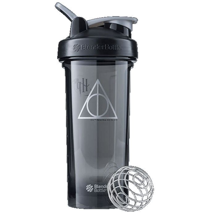 Harry Potter Shaker Bottle Deathly Hallows