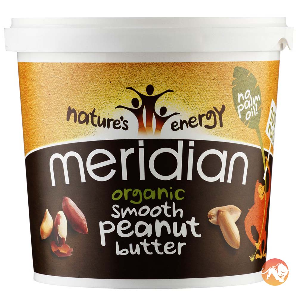 Organic Smooth Peanut Butter 1kg