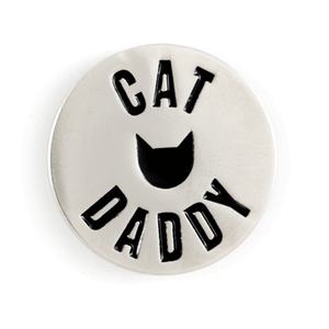 Cat Daddy Enamel Pin