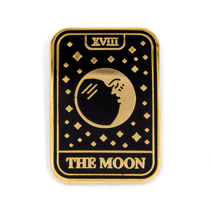 Moon Tarot Enamel Pin