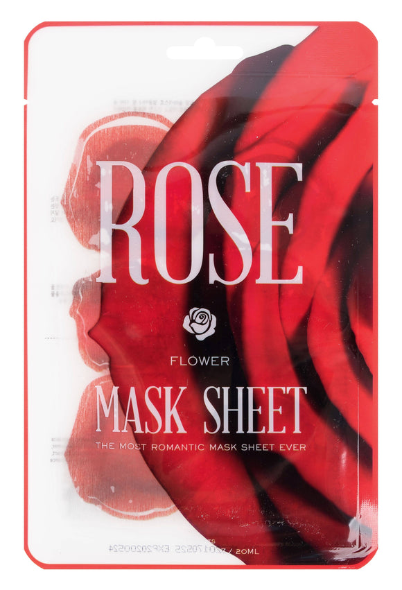 Rose Flower Mask