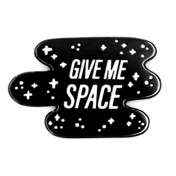 Give Me Space Enamel Pin