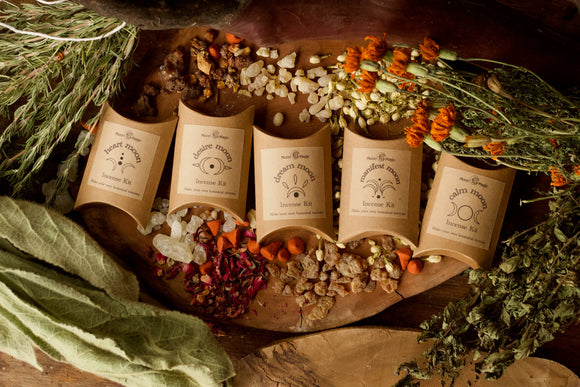 DIY Botanical Cone Incense Kit