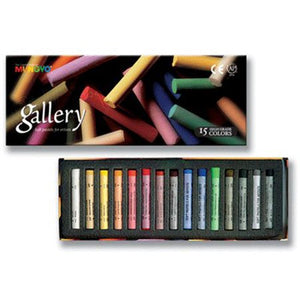 Mungyo Soft Pastels, Set of 15