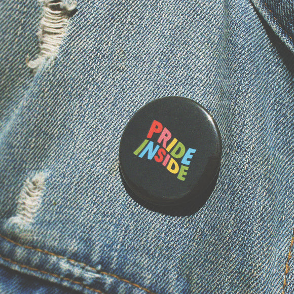 Pride Inside Pin Button