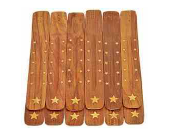Wooden Star Incense Burner