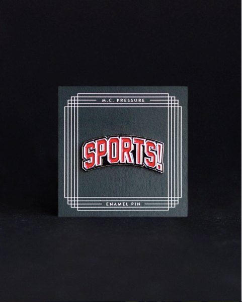 Sports Enamel Pin